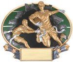 Full Color Flag Football Award Flag Football Trophies