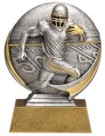 Football 3D Motion Trophy Flag Football Trophies