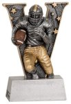 Football V Series Resin Football Trophies