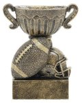 Sport Cup Football Antique Gold Football Trophies