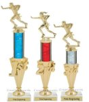 First - Third Place Flag Football Trophies 2 Football Trophies