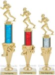 First-Third Place Football Trophies Football Trophies