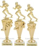 First-Third Place Football Awards Football Trophies