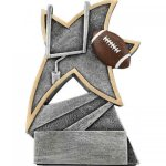 Football Jazz Star Resin Football Trophies
