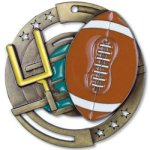 Color Football Medal Football Trophies