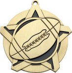Super Star Football Medal Football Trophies