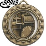 Spinner Football Medal Football Trophies