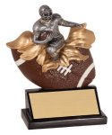 Male Football Xploding Resin Football Trophy Awards
