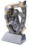 3D Star Football Award OUT-OF-STOCK Football Trophy Awards