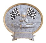 Legend Go-Kart Oval Award Go-Kart Trophies