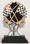 Racing Flag Impact Trophy Go-Kart Trophies