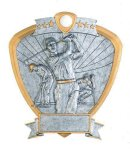 Signature Series Golf Shield Award Golf Trophies