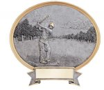 Legend Golf Oval Award Golf Trophies