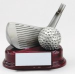 Wedge Trophy Golf Trophies