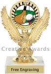 Eagle Golf Trophy Golf Trophies