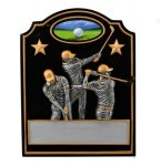Male Golf Trio Award Golf Trophies