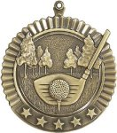 5 Star Golf Medal Golf Trophies