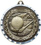 Diamond Cut Golf Medal Golf Trophies