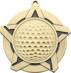 Super Star Golf Medal Golf Trophies