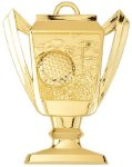 Trophy Cup Golf Medal Golf Trophies