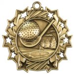 Ten Star Golf  Medal Golf Trophies
