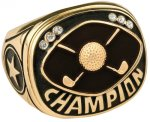 Golf Champion Ring Golf Trophies