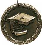 Wreath Graduation Medal Graduation Trophies