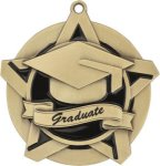Super Star Graduate Medal Graduation Trophies