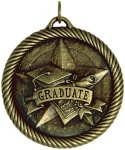 Value Graduate Medal Graduation Trophies