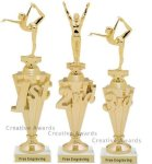 First - Third Place Gymnastics Trophies 1 Gymnastics Trophy Awards