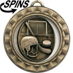 Spinner Hockey Medal Hockey Medals
