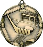 Ribbon Hockey Medal Hockey Trophies
