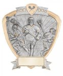 Signature Series Lacrosse Shield Award Lacrosse Trophies