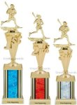 First - Third Place Lacrosse Trophies 4 Lacrosse Trophy Awards