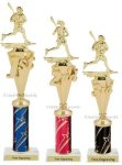 First - Third Place Lacrosse Trophies 3 Lacrosse Trophy Awards