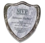 Shield Marble Plaque Marble Awards