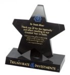 Black Star Marble Award Marble Awards