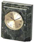 Jade Marble Desk Clock Marble Clocks