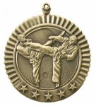 5 Star Karate Male Medal Martial Arts Medals