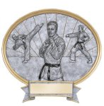 Legend Karate Oval Award Martial Arts Trophies
