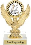 Eagle Karate Trophy Martial Arts Trophies