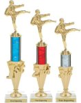 First - Third Place Martial Arts Trophies 2 Martial Arts Trophies