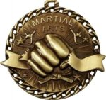 Burst Thru Wrestling Medal Martial Arts Trophies