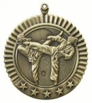 5 Star Karate Female Medal Martial Arts Trophies