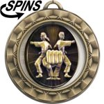Spinner Martial Arts Medal Martial Arts Trophies
