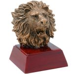 Lion Resin Mascot Awards