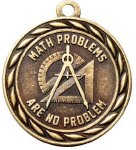Scholastic Math No Problem Medal Math Medals