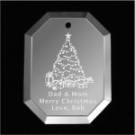 Christmas Tree Ornament Mirror Christmas Ornaments | Octagon