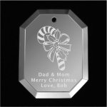 Candy Cane Christmas Ornament Mirror Christmas Ornaments | Octagon