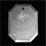 Bells Christmas Ornament Mirror Christmas Ornaments | Octagon